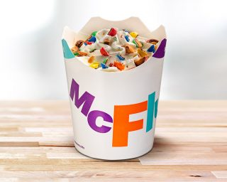McFlurry M&M's
