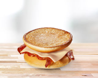 McToast with Bacon and Cheese