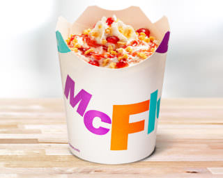 McFlurry Biscuit Sensation Strawberry